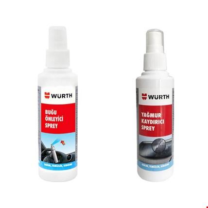 Würth Buğu Önleyici Anti Fog ve Yağmur Kaydırıcı Sprey Set 170Ml