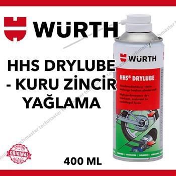 Würth HHS Drylube Tutunma Özellikli Kuru Zincir Yağlama Spreyi