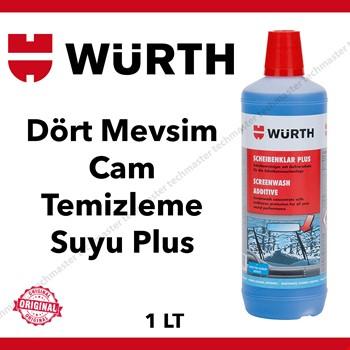 Würth Dört Mevsim Konsantre Antifirizli Cam Temizleme Suyu 1Lt