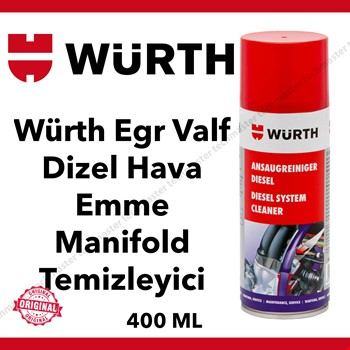 Würth Egr Valf Dizel Hava Emme Manifold Temizleyici 400ml