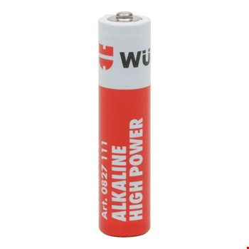 Würth Orjinal Yüksek Kalite Alkaline İnce Kalem Pil 4 Adet