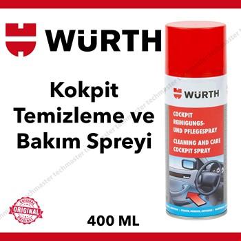 Würth Kokpit Araç Göğsü Temizleme ve Bakım Spreyi 400ml