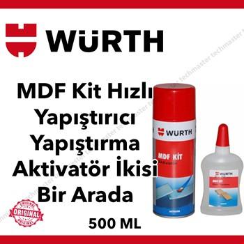 Würth Mdf Kit Hızlı Yapıştırıcı Yapıştırma  Aktivatör 2si Bir Arada