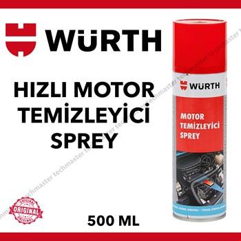 Würth Hızlı Motor Temizleme Spreyi Su Gerektirmez 500ml