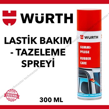 Würth Lastik Bakım Kapı Fitil ve Tazeleme Spreyi 300ml