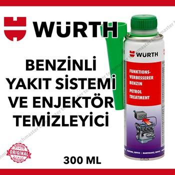 Würth Benzinli Yakıt Sistemi ve Enjektör Temizleyici 300ml