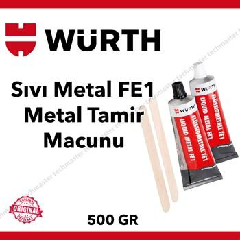 Würth Sıvı Metal FE1 Metal Tamir Macunu