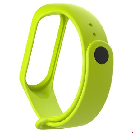Xiaomi Mi Band 3 Akıllı Bileklik Kordon Kayış Renk: Yeşil AçıkEkran Koruyucu: İstiyorum