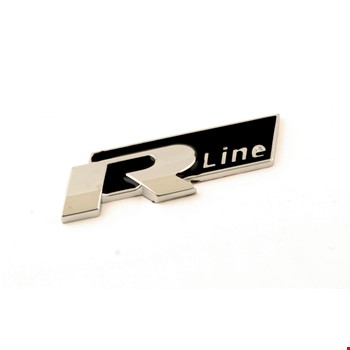 Volkswagen R-Line Bagaj Logo 3D Arma Metal
