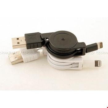 iPhone 5 5s 6 6 Plus Makaralı Usb Şarj Kablosu 2 Adet