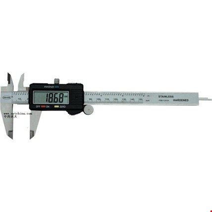 150mm Çelik Elektronik Dijital Kumpas 0,01mm Hassasiyet