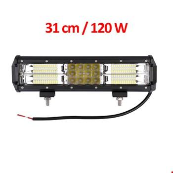180w 60 Combo Led Delici&Yayıcı Off Road Lambası Projektör 31cm