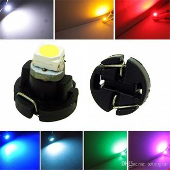 2 Adet T4.7-5050 Led Gösterge Paneli Işığı Kadran Lambası Led Işık