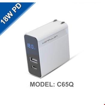 iPhone 11 12 Pro Max 18w Hızlı Şarj Aleti Adaptörü Type-C C65Q