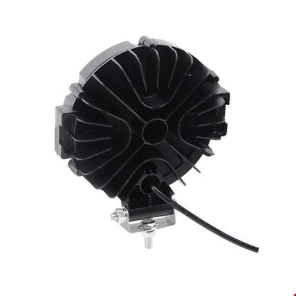 51 Watt 17 Ledli Off Road Sis Gündüz Farı Projektör Lambası 17 CM