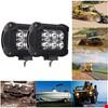 18W 6 Led Off Road Sis Gündüz Farı Lambası Projektör Beyaz Işık Adet Seçiniz: 1 Adet
