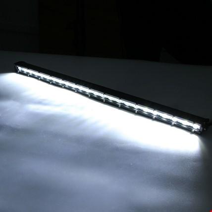 72W 24 Led Tek Sıra Off Road Yayıcı Gündüz Farı Lambası Projektör