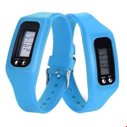 Adımsayar KaloriMetre Led Spor Saat 3 Adet Saat Renk: Mavi