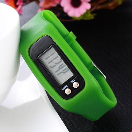 Adımsayar KaloriMetre Led Spor Saat 3 Adet Saat Renk: Yeşil