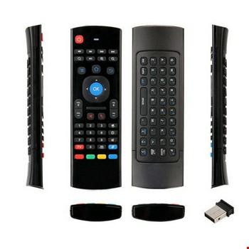 Air Mouse Mini Klavye Mouse Akıllı Tv Pc Laptop Oyun Konsolu MX3