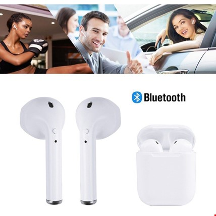 İ8 Tws Kablosuz Stereo Bluetooth Kulaklık İphone Android Uyumlu