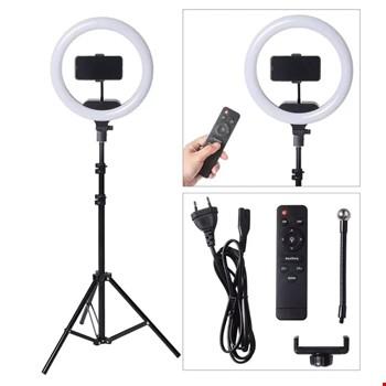 AL-360 Selfie Işığı Tripod Kumandalı Youtuber Twitch Makyaj 36cm