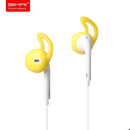 Apple AirPods Kulaklık Silikonu Sabitleyici Renk: Sarı
