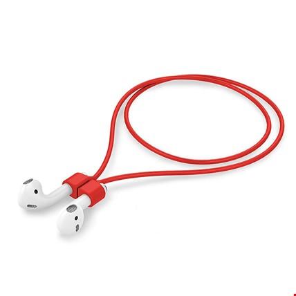 Apple AirPods 2 Airpods Pro Silikon Askı Askısı Kaybolmayı Önler Renk: Kırmızı