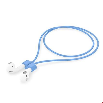 Apple AirPods 2 Airpods Pro Silikon Askı Askısı Kaybolmayı Önler Renk: Mavi