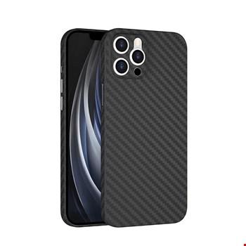 Apple iPhone 11 Pro Max Kılıf ?????Wiwu Skin Carbon PP Kapak