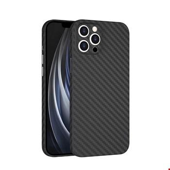 Apple iPhone 12 Pro Kılıf ?????Wiwu Skin Carbon PP Kapak
