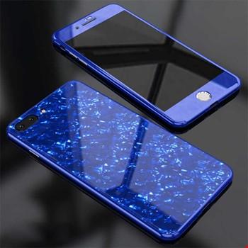 Apple iPhone 8 Plus Kılıf Voero Desenli 360 Magnet Case