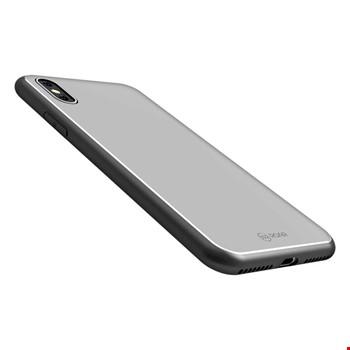 Apple iPhone X Kılıf Roar Mira Glass Back Cover