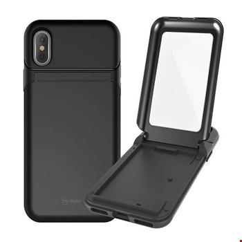 Apple iPhone X Kılıf Roar Mirror Bumper Case