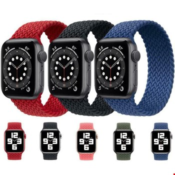Apple Watch 1 2 3 4 5 6 42mm 44mm Örgü Solo Loop TME Kordon Small