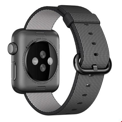 Apple Watch 2 3 4 42 ve 44mm TME Kordon Woven Nylon