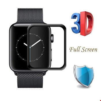 Apple Watch 2 3 38 mm 3D Tam Kaplayan Cam Ekran Koruyucu Filmi