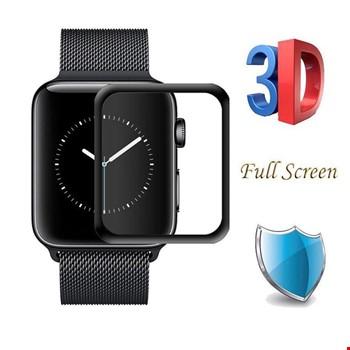 Apple Watch 2 3 38 mm 3D Tam Kaplayan Nano Ekran Koruyucu Filmi