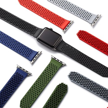 Apple Watch 2 3 42 mm Yeni Silikon Kordon Kayış