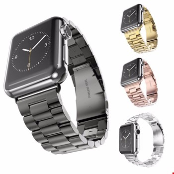 Apple Watch 38 mm 40 mm Çelik Steel TME Kordon Kayış