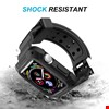 Apple Watch 4 5 40mm TME Kordon Kayış + Rugged Armor Kılıf Koruma