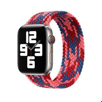 Apple Watch 40mm Wiwu Braided Solo Loop Contrast Color Small Kordon