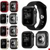 Apple Watch 4 44mm Sert Plastik Rubber Kapak Kılıfı Koruyucu