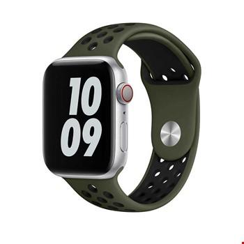 Apple Watch 44mm Wiwu Dual Color Sport Band Silikon Kordon