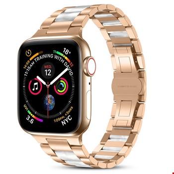 Apple Watch 44mm Wiwu Resin Steel Belt Metal Kordon