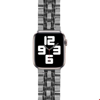 Apple Watch 44mm Wiwu Seven Beads Steel Belt Metal Kordon