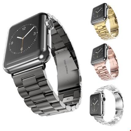 Apple Watch 2 3 4. Seri 42 ve 44mm Çelik Stainless Kordon Kayış