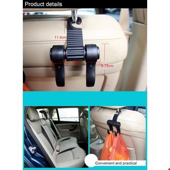 Araba İçin Otomobil Koltuk Arkası Askısı Kancası 2 Li