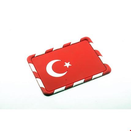 Oto Araç İçin Torpido Türk Bayrağı Telefon Tutucu Kaydırmaz Pad