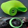 Araç Araba Renkli Direksiyon Silikon Kılıfı Kaydırmaz Renk: Yeşil